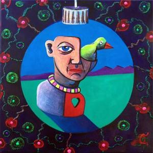 Bird In The Ornament 5