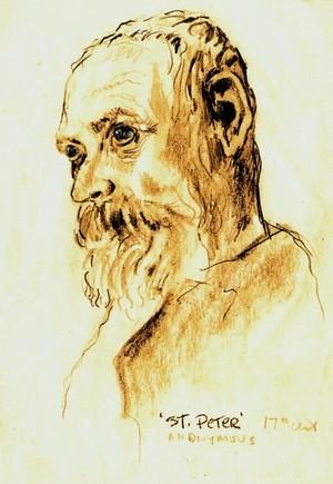 'Portrait of St. Peter'