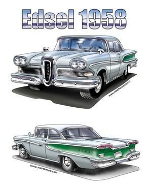 1958 Edsel Hardtop