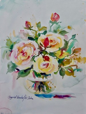 Watercolor Series No. 96 (Roses)