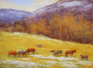 Pastel paintings of Virginia, 2011-2012