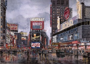 Times Square: Crossroads Of The World ca. 1949