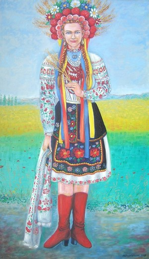 Ukranian Folk fashion, 2017