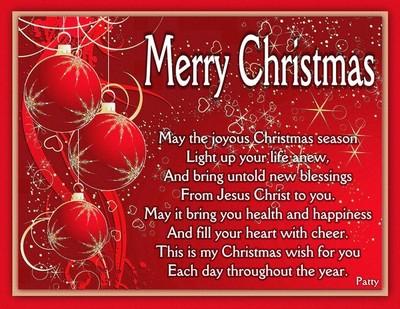 Merry Christmas Wish.....