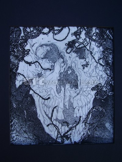 Decaying Skull