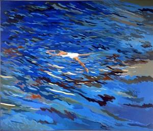 Schwimmerin V, 1979