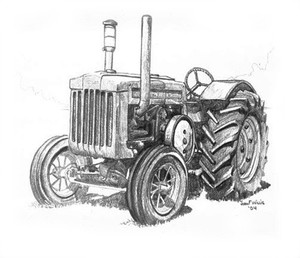 Uncle Buddy's Tractor