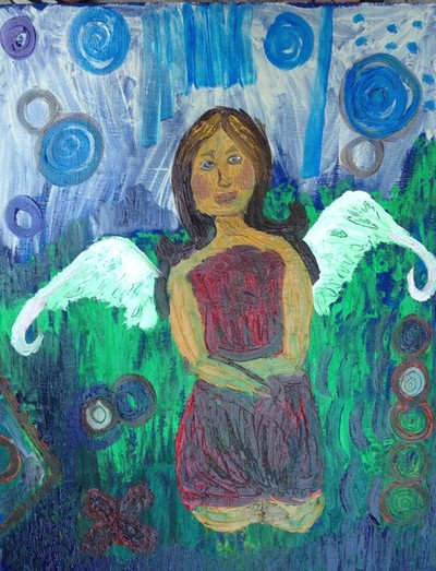 Painterly Angel