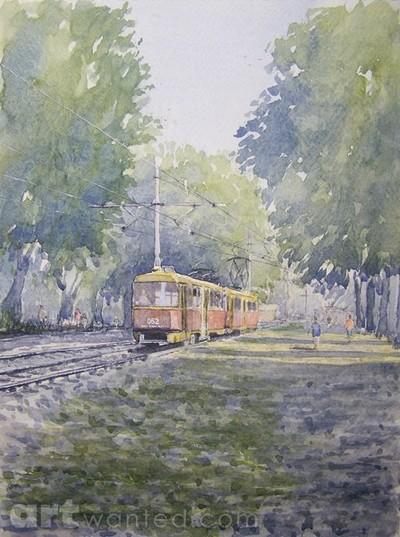 the tram home, Krasnodar