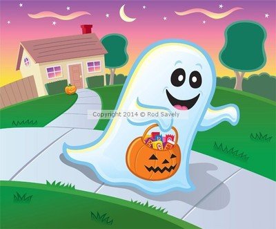 Ghost Trick or Treating