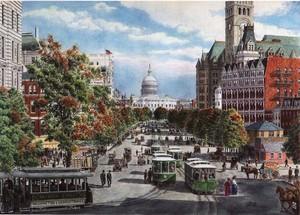 Washington D.C. ca. 1908
