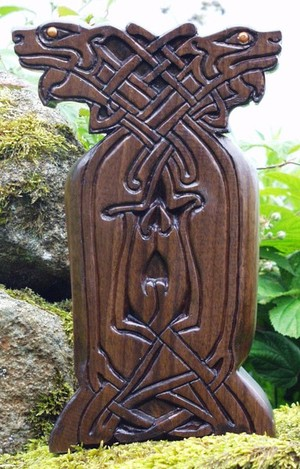 Entwined Celtic Dogs