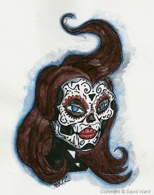 Sugar Skull 001