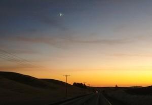 Yellow Sky, Crescent Moon