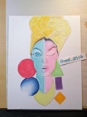 Pastel work