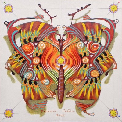 tribal butterfly (SOLD)