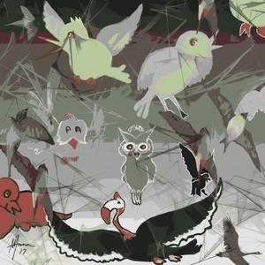LITTLE BIRDS 9PASSARINHANDO0
