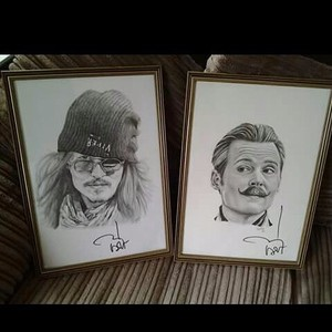 Johnny depp signed