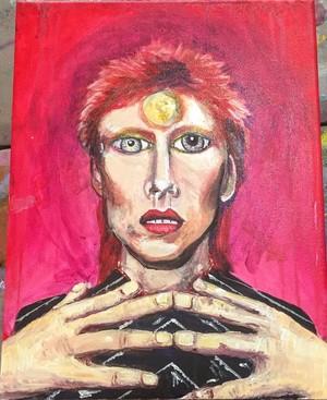 David Bowie Potrait