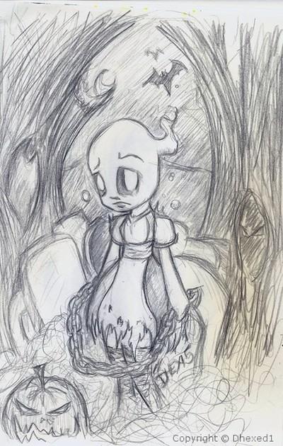 Ghost Girl 001