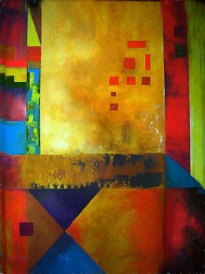 Abstract composition 45
