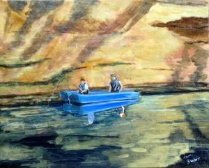 Fishin on the little Sandy