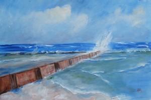 Tybee Island, South End Wall