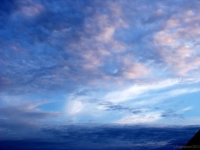 sea the sky..