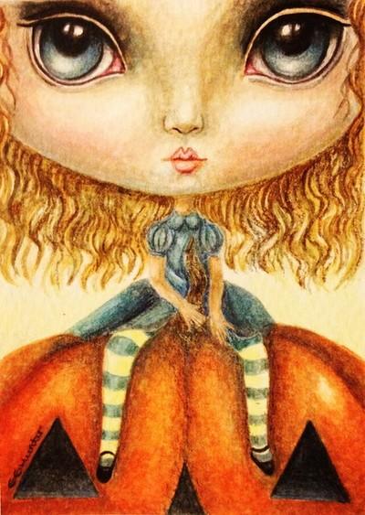 Alice in Pumpkin Land