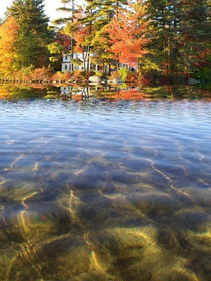 New Hampshire lake