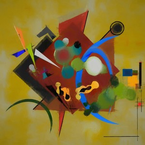 Abstract composition 191
