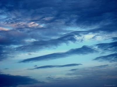 wavy sky