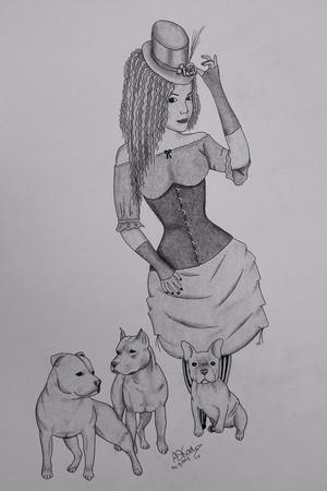 Steampunk & Dogs