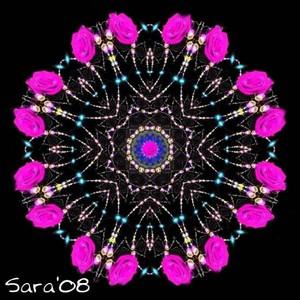 Roselace Mandala