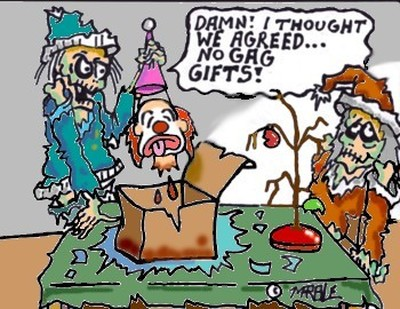 No gag gifts