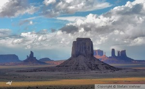 monumental sky at Monument Valley
