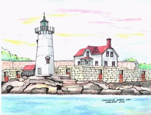Portmouth Harbor Light House