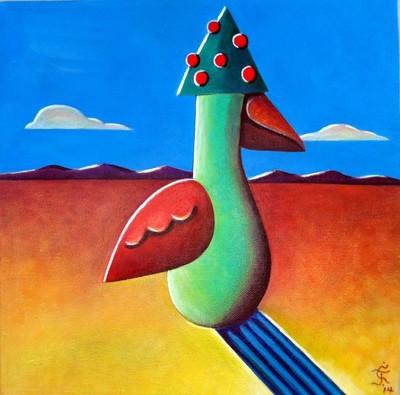 Tree-Hat Bird (Arbre Chapeau Oiseau)