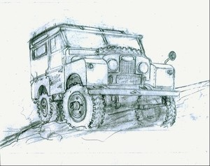 Hughes-Series One Land Rover