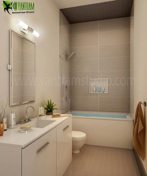 3D Interior Bathroom Design
