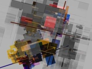 Abstract composition 255