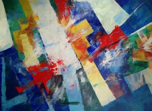 Abstract Composition 611