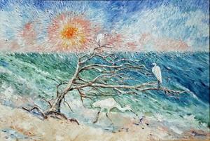 Egrets at Dawn