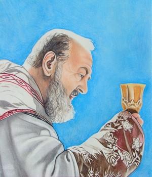 St. (Padre) Pio - Stigmatist #3