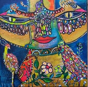 femme oiseau/ bird woman