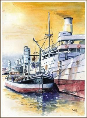 Loading a Congoboat