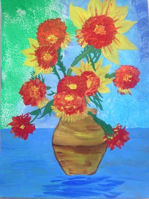 Surajmukhi-Sunflowers