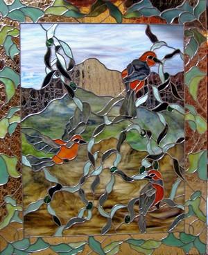 Rare Oriole Acanthus Birds