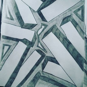 My pencil shading shapes