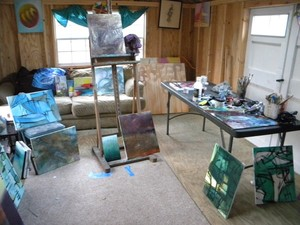 Exhibits and Studio Shots
